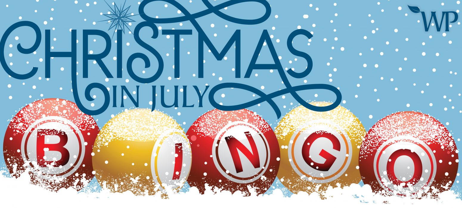 Christmas in July BINGO header photo
